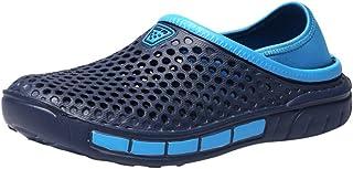 Yowablo Chaussures Pantoufles de Sports d'intérieur d'été pour Hommes Chaussures décontractées Slip-on Beach Walk