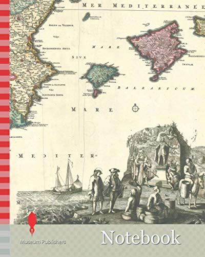 Notebook: Map, Curiosa nova tabula complectens regnum Valentiæ et Murciæ, Copperplate print