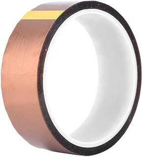 カプトンテープ 絶縁耐熱テープ 高温テープ ポリイミドテープ 250-300℃ 高耐熱テープ 33m長さ 電子基板 の マスキング 保護 等に 1巻入り(幅30mm)