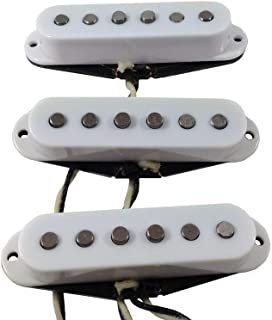 alegree handwound Texan Granizada–Vintage estilo caliente con un toque moderno Stratocaster Pickups, Cream Set