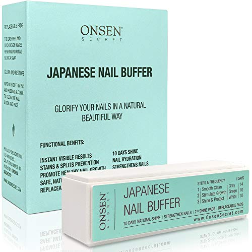 Onsen Professional Nail Buffer, Ultimate Shine