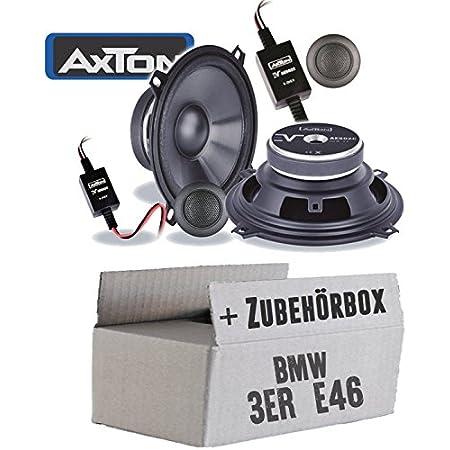 Lautsprecher Boxen Axton Ae502c 13cm 2 Wege Koax Auto Einbauzubehör Einbauset Für Bmw 3er E30 Just Sound Best Choice For Caraudio Navigation