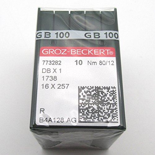 Affordable ckpsms GROZ-BECKERT Needle - 100PCS Groz Beckert DBX1 1738 16X257 Sewing Machine Needles ...
