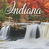 Indiana Calendar 2022: Gifts for Friends and Family with 12-month Monthly Calendar in 8.5x8.5 inch