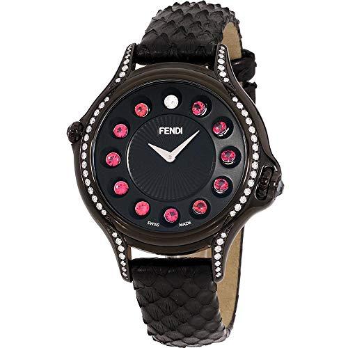 Fendi Crazy Carats F110031011C0T05 - Orologio da donna con quadrante nero e...