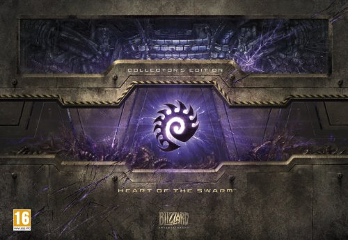 NEW & SEALED! Starcraft 2 Heart Of The Swarm Collector's Edition Expansion Pack