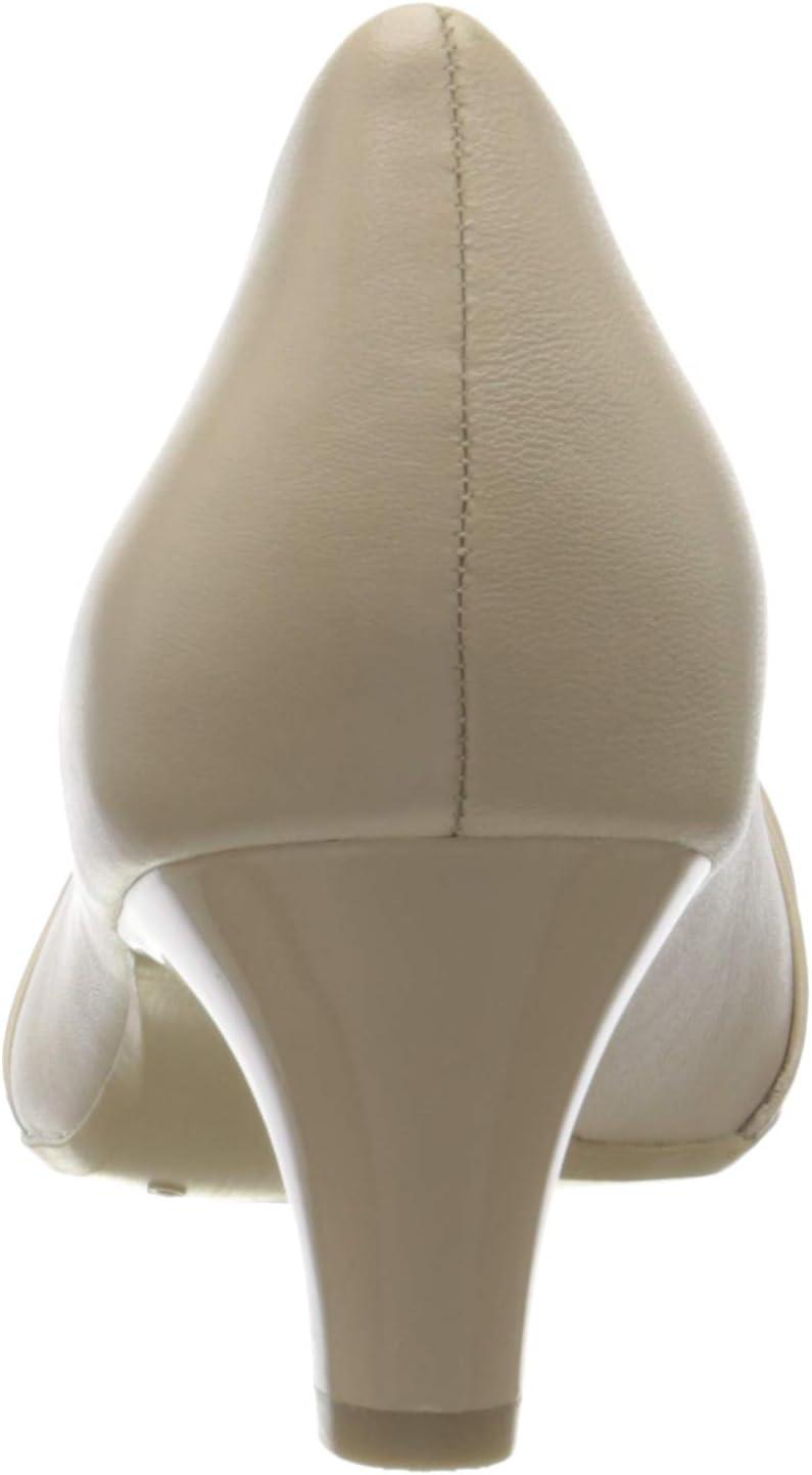 CAPRICE vrouwen Cristina gesloten teen pompen beige (beige softnap. 431)
