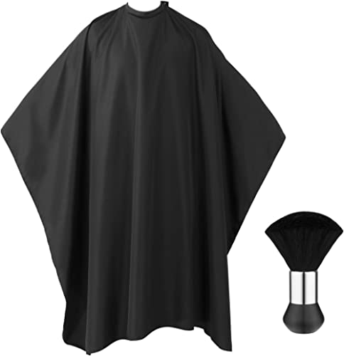 Cape de Cheveux, Frcolor Cape de Coiffure Robe de Coupe de Cheveux de Salon Tissu de Capes de Coiffeur with Cou Bross...