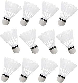 Badminton Shuttles Nylon Badminton Ballen Voor Indoor Outdoor Sport (pak Van 12)