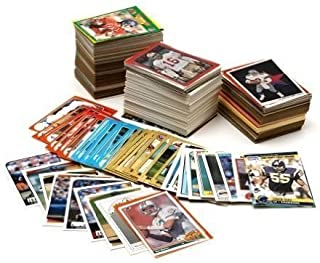 NFL Football Card Collector Box with Over 500 Cards