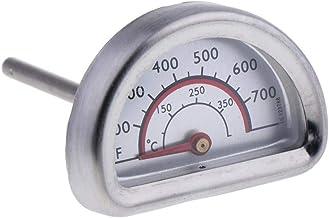 PETSOLA Semicírculo Horno Analógico Termómetro Calibre BBQ Grill Termómetro 0 ℃ -350 ℃