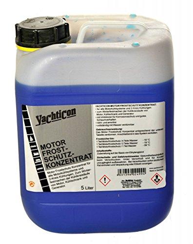 YACHTICON Motor Kühlkreislauf Frostschutz 5 Liter