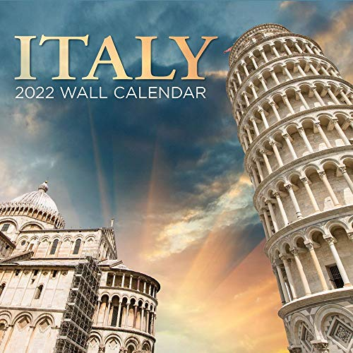 Turner Licensing, Italy 2022 Wall Calendar