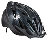 Schwinn Thrasher Bike Helmet, Lightweight Microshell Design, Adult, Carbon