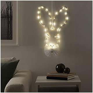 IKEA Strala LED Wall Pendant Lamp Battery Operated Hare 604.089.25