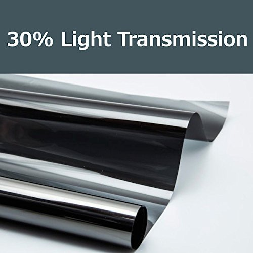 PROTINT WINDOWS 30% Shade Color 24 Inches by 10 Feet Window Tint Film Roll, for Privacy and Heat Reduction