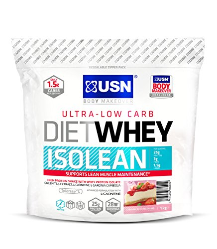 USN Diet Whey Isolean, Strawberry Cheesecake - 1 kg