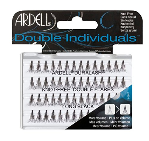 Ardell Double Individuals Long, das Original (Knot Free) black, wiederverwendbare Einzelwimpern für...