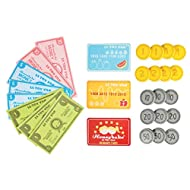 Le Toy Van - Toy Play Money For Role Play | Great For Supermarket, Cafe, Cinema or Food Shop Pretend...