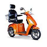 E-Wheels EW-36 3-Wheel Electric Senior Mobility Scooter -...