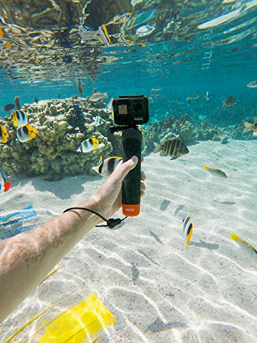 GoPro Hero7 Black — Waterproof Action Camera with Touch Screen 4K Ultra HD Video 12MP Photos 720p Live Streaming… 8 HyperSmooth: Get gimbal‑like stabilization—without the gimbal. HERO7 Black corrects for camera shake to deliver insanely smooth footage TimeWarp: Capture super stabilized time lapse videos while you move about a scene. Increase the speed up to 30x to turn longer activities into shareable moments Live streaming in 720p: Share while you're there. Live stream in 720p on social, get HyperSmooth stabilization as you broadcast via the GoPro app and save footage to your SD card to check out later