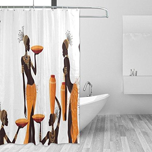 jstel 221121Duschvorhang Schimmelresistent & Polyester-Wasserdicht-182,9x 182,9cm für Home Extra Lang Badezimmer Deko Dusche Bad Gardinen Liner mit 12Haken