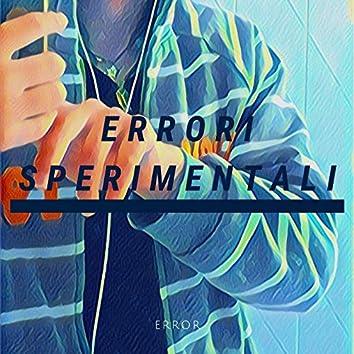 Errori sperimentali