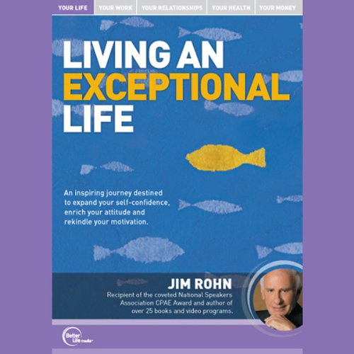 Living an Exceptional Life (Live) audiobook cover art