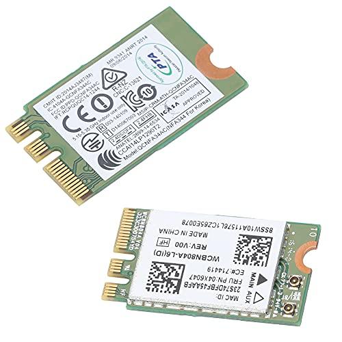 Tarjeta de red inalámbrica de banda dual 5G, tarjeta Wifi para computadora portátil, adaptadores universales de Wi-Fi USB, para Qualcomm Atheros Qcnfa34Ac 867M Bluetooth 4.0, Lenovo B50-80 E460 E560 Y