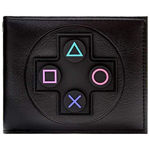 Sony Playstation Regler Schwarz Portemonnaie Geldbörse