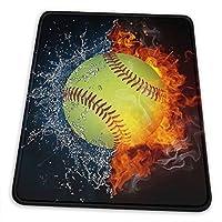 マウスパッド 野球の火 ゲーミングマウスパット デスクマット 最適 高級感 おしゃれ 滑り止めゴム底 防水設計 複数サイズ