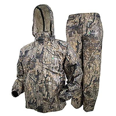 FROGG TOGGS Men's Classic All-Sport Waterproof Breathable Rain Suit, Realtree Timber, X-Large from FROGG TOGGS