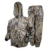 FROGG TOGGS Men's Classic All-Sport Waterproof Breathable Rain Suit, Realtree Timber, Large
