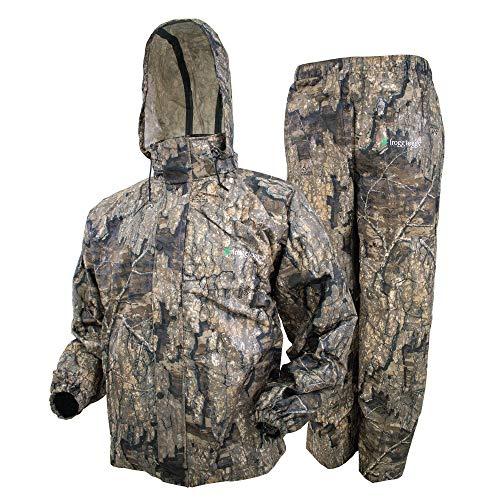 Frogg Toggs Herren All Sport Rain Suit Regenanzug, Realtree Holz, X-Large (2er Pack)