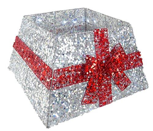 Christmas Concepts® Falda Base árbol Navidad Cinta
