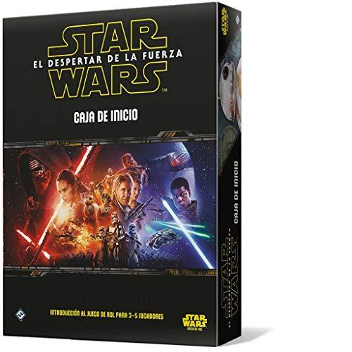 Fantasy Flight Games- Star Wars: El Despertar de la Fuerza: Caja de Inicio - Español, Color (FFSWR09)