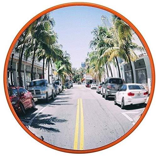Hfyg verkeersspiegel niet vervormd verkeer spiegel onbreekbaar ronde veiligheid spiegel de Mall blinde zone anti-diefstal spiegel 80CM