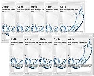 [Abib] Mild acidic pH sheet mask Aqua Fit 30ml (10pcs)