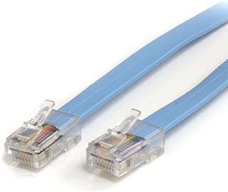 StarTech.com シスコCisco規格準拠コンソール/ロールオーバー ケーブル 1.8m RJ45/オス - RJ45/オス ROLLOVERMM6