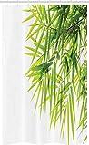 ABAKUHAUS Bambú Cortina para baño, Paz de la Hoja de...