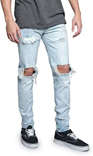 Best blown out knee jeans mens Reviews