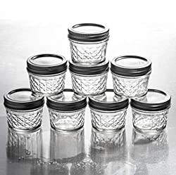 4oz jelly jars with lids