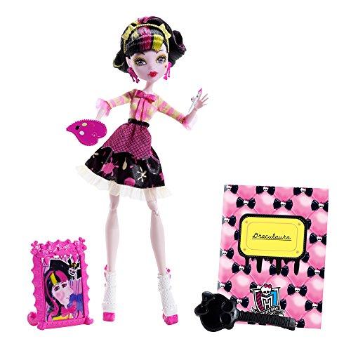 Mattel Monster High BDF12 - Art Class Draculaura, Puppe