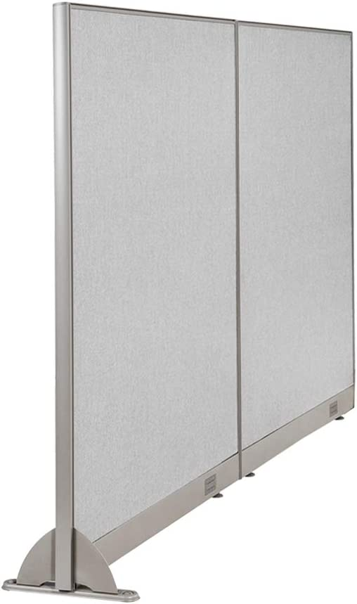 GOF Wall Mounted Cheap mail order specialty store Office Partition Fabric Limited price Pan Divider Large Room
