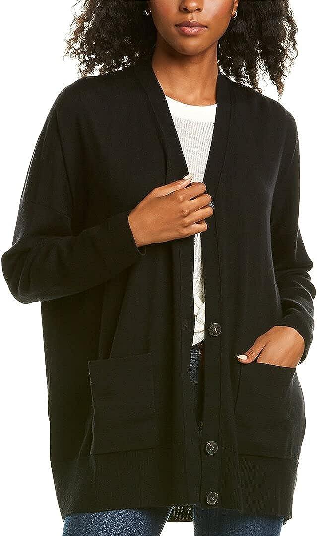 Lafayette 148 New York Wool Cocoon Cardigan