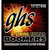 GHS GBL-8 Boomers 8弦用 エレキギター弦×3セット