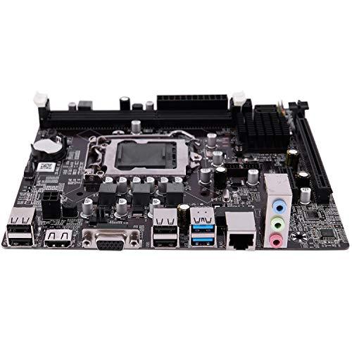 Casinlog B75 LGA 1155 Placa Base para Computadora de Escritorio con SATA II USB3.0/2.0 PCI-E X16 16G DDR3 1600 Placa Base