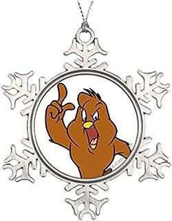 Henery Hawk Yelling Family Snowflake Ornaments Decoration Christmas Snowflake Ornaments