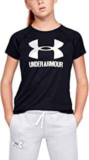Girls' Big Logo Solid Short Sleeve T-Shirt