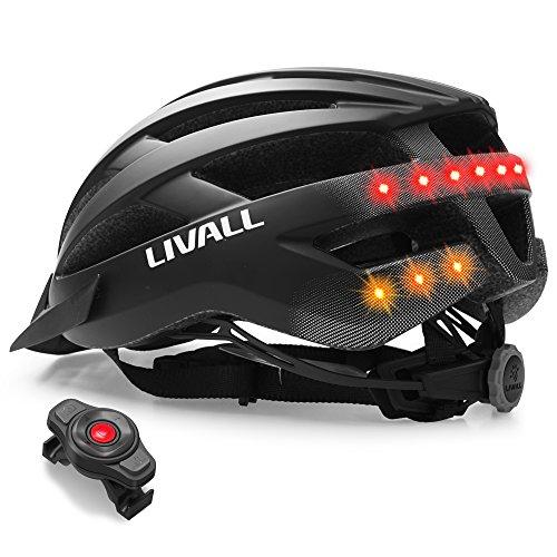 LIVALL Adultos MT1Música, luz Trasera, Intermitente, Sistema de navegación, función de Llamada...